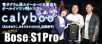 【特集】calyboo meets Bose S1 Pro