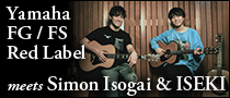 Yamaha FG-FS Red Label meets Simon Isogai & ISEKI