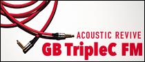 【特集】ネクストレベルのノイズレス・サウンド!ACOUSTIC REVIVE / GB-TripleC-FM